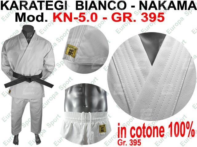 KARATEGI BIANCO ( GR. 395 ) MOD. NAKAMA KN-5.0