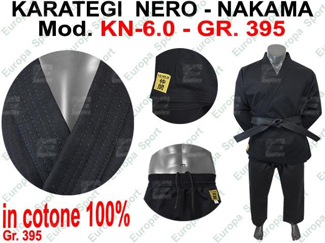 KARATEGI NERO ( GR. 395 ) MOD. NAKAMA KN-6.0