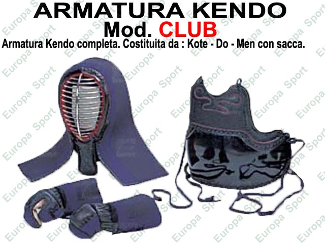 ARMATURA KENDO MOD. CLUB