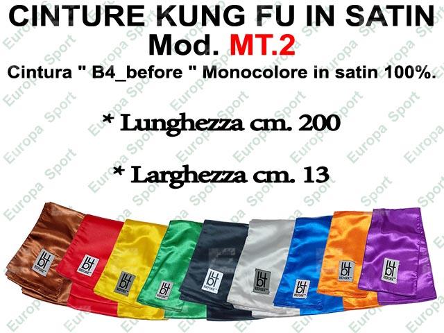 CINTURE KUNG FU IN SATIN CM. 200 MOD. MONO_C_MT.2