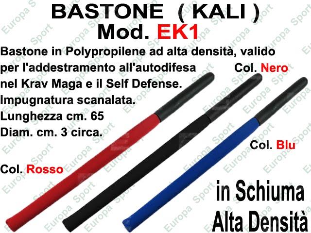 BASTONE  ( KALI )  IN SCHIUMA ALTA DENSITA'  MOD. EK1