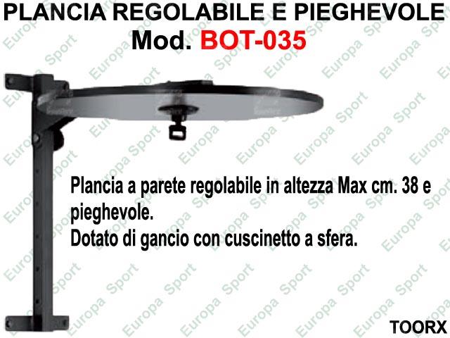 PLANCIA REGOLABILE E PIEGHEVOLE  MOD. BOT-035
