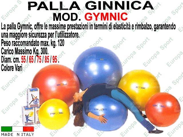 PALLA GINNICA  MOD. GYMNIC - Made Italy