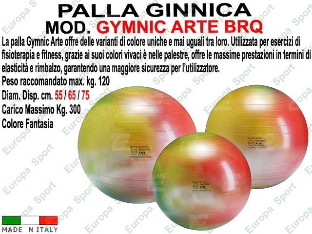 PALLA GINNICA MOD. GYMNIC ARTE BRQ PESO KG. 300 - Made Italy