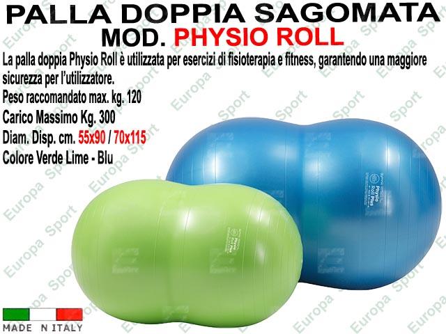 PALLA GINNICA SAGOMATA MOD. PHYSIO ROLL PLUS PESO KG. 300 - Made Italy