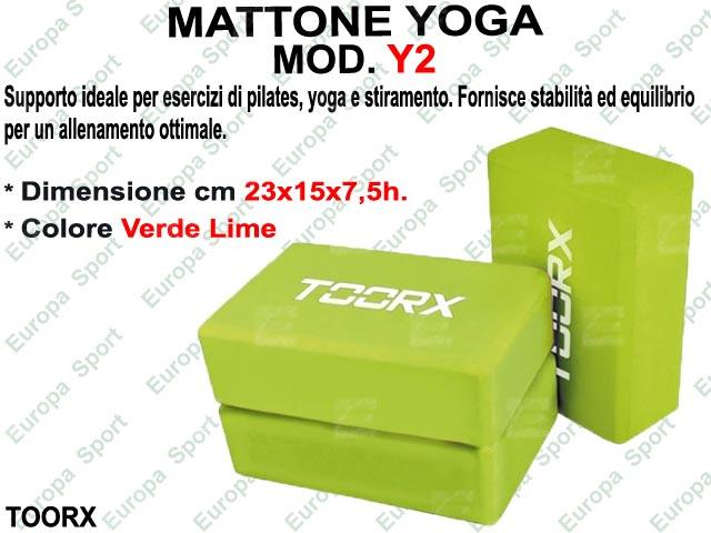 MATTONE YOGA TOORX  MOD. Y2  ( 025 )