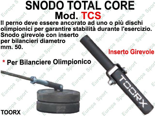 TOTAL CORE - SNODO  PER BILANCIERI CON DIAM. MM. 50 TOORX  MOD. TCS  ( 198 )