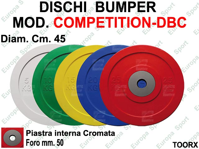 DISCO BUMPER IN GOMMA + PIASTRA TOORX  MOD. COMPETITION - DBC