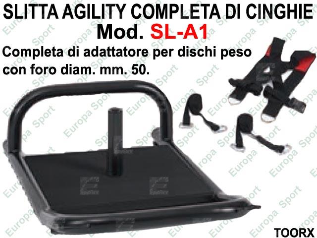 SLITTA AGILITY COMPLETA DI CINGHIE TOORX  MOD. SL-A1