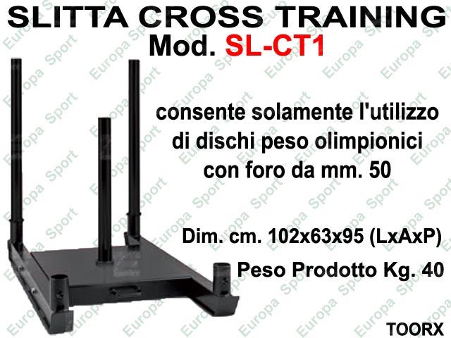 SLITTA CROSS TRAINING TOORX  MOD. SL-CT1  ( 187 )