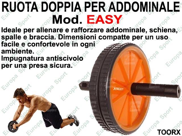 RUOTA DOPPIA PER ADDOMINALE TOORX  MOD. EASY  ( 047 )