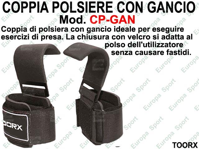 COPPIA POLSIERE CON GANCIO TOORX  MOD. CP-GAN