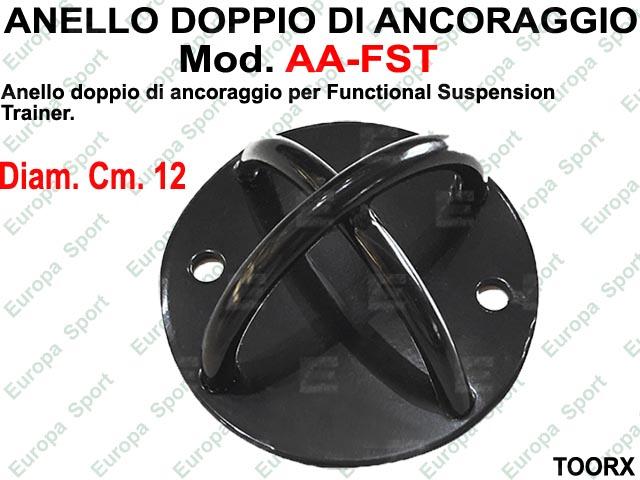 ANELLO DOPPIO DI ANCORAGGIO PER SUSPENSION TRAINER  MOD. AA-FST