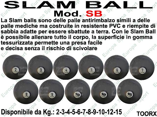 PALLA SLAM BALL ANTIRIMBALZO TOORX  MOD. SB