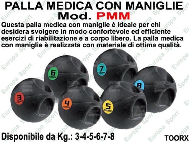 PALLA MEDICA CON MANIGLIE  MOD. TOORX - PMM