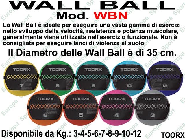 PALLA WALL BALL DIAM. CM. 35 MOD. TOORX - WBN