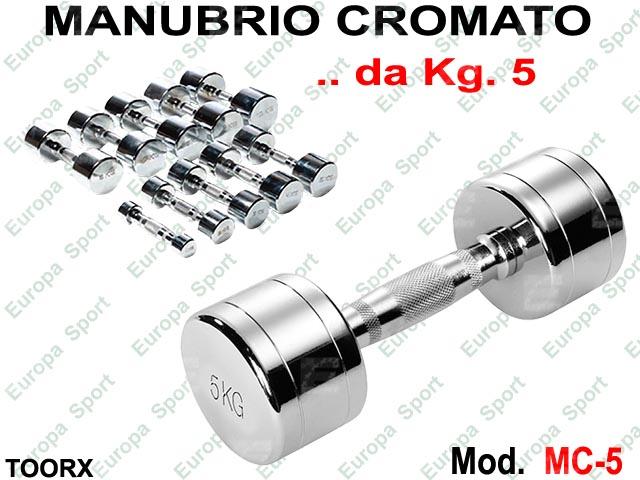 MANUBRIO CROMATO KG. 5  MOD. MC-5