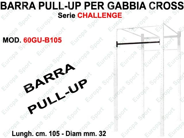BARRA PULL-UP  PER GABBIA CROSS SERIE CHALLENGE DIAM. MM. 32 - L. 105  MOD. 60GU-B105
