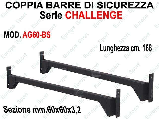 COPPIA BARRE DI SICUREZZA - SERIE CHALLENGE  MOD. AG60-BS
