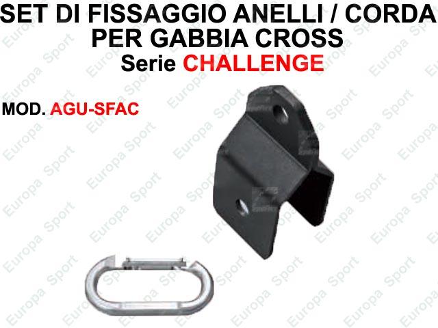 SET DI FISSAGGIO PER SUPPORTO ACCESSORI - SERIE CHALLENGE  MOD. AGU-SFAC