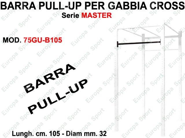 BARRA PULL-UP  PER GABBIA CROSS SERIE MASTER DIAM. MM. 32 - L. 105  MOD. 75GU-B105