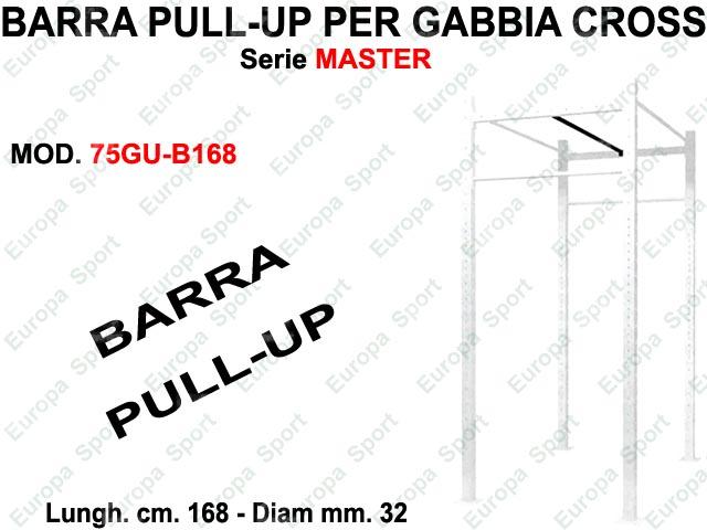 BARRA PULL-UP  PER GABBIA CROSS MASTER DIAM. MM. 32 - L. 168  MOD. 75GU-B168