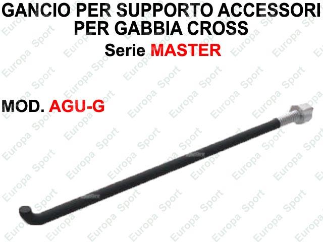 GANCIO PER SUPPORTO ACCESSORI SERIE MASTER  MOD. AGU-G