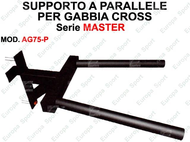 PARALLELE PER GABBIA CROSS SERIE MASTER  MOD. AG75-P