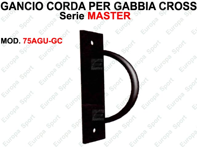 GANCIO FUNE PER GABBIA CROSS  SERIE MASTER  MOD. 75AGU-GC