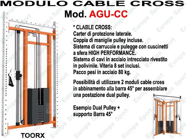 MODULO CABLE CROSS - SERIE MASTER  MOD. AGU-CC