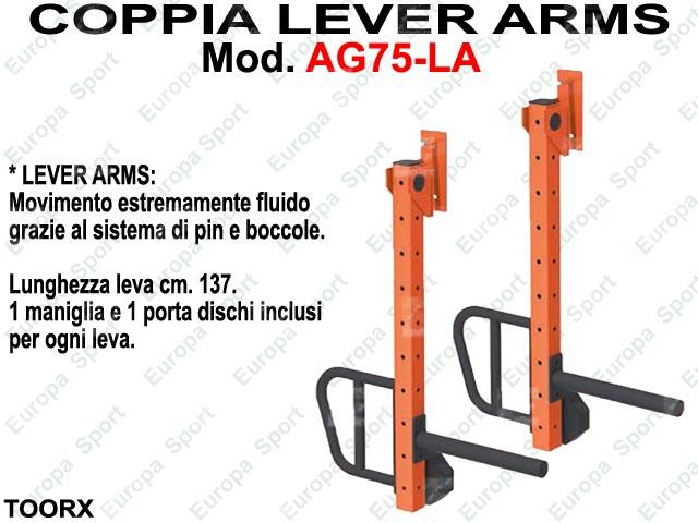 COPPIA LEVER ARMS - SERIE MASTER  MOD. AG75-LA
