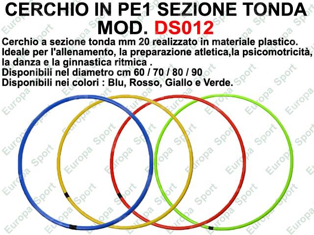 CERCHIO IN PE1 SEZIONE TONDA  MOD. DS012