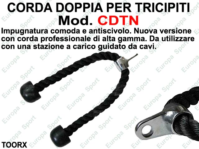 CORDA DOPPIA PER TRICIPITI TOORX  MOD. CDTN