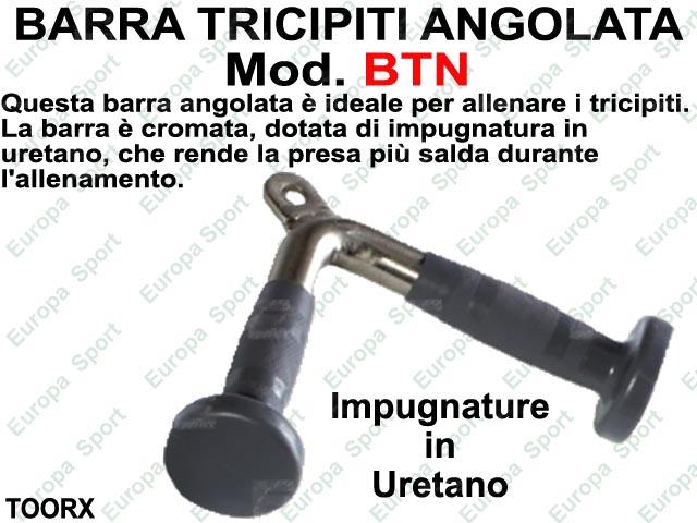 BARRA TRICIPITI ANGOLATA TOORX  MOD. BTN