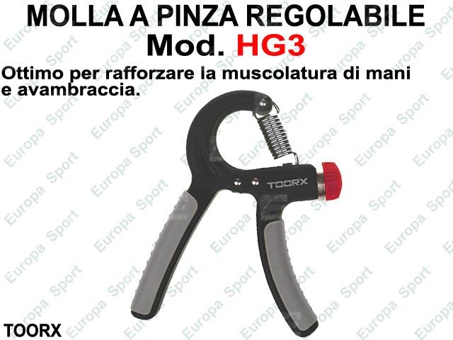 MOLLA A PINZA REGOLABILE - HAND GRIP TOORX  MOD HG3
