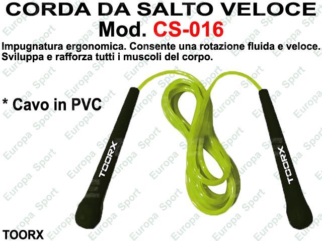 CORDA DA SALTO VELOCE IN PVC TOORX  MOD. CS-016