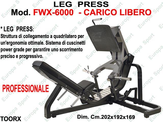 LEG PRESS  MOD FWX-6000