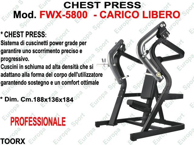 CHEST PRESS  MOD FWX-5800