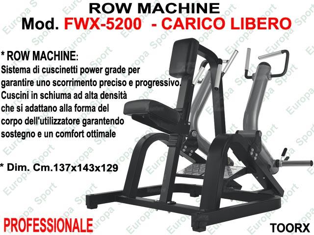 ROW MACHINE  MOD. FWX-5200