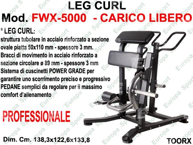 LEG CURL  MOD. FWX-5000