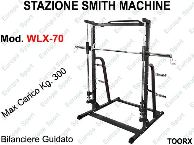 STAZIONE SMITH MACHINE / MULTIPOWER TOORX  MOD. WLX-70