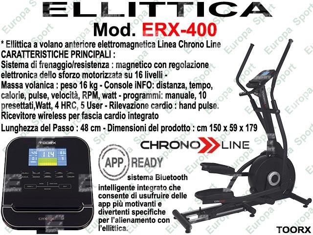 ELLITTICA HRC ELETTROMAGNETICA - CHRONO LINE  MOD. ERX-400